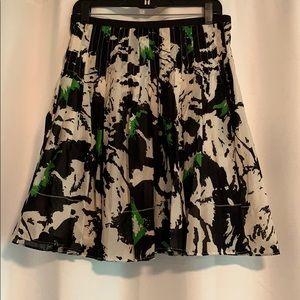 The Limited Abstract Animal Print Skirt